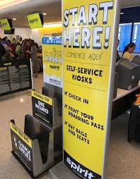 review spirit airlines booking u0026 check in process one mile at a