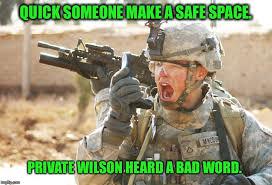 Soldier Meme - us army soldier yelling radio iraq war meme generator imgflip