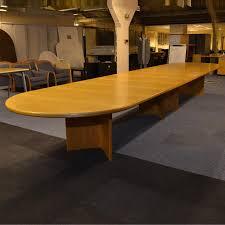 Large Boardroom Tables Oak Boardroom Table Light Oak Boardroom Table 4000mm Bw Office