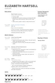 Sample Resume For Daycare Worker by Child Care Teacher Resume Example Sample Resume Objectives For