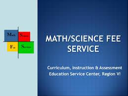 elementary mathematics education service center region vi