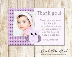 owl thank you cards etsy