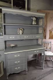 Shabby Chic Secretary Desk by Dormco Desk Hutch Decorative Desk Decoration