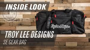 size 16 motocross boots troy lee designs se motocross gear bag inside look youtube