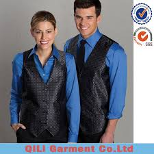 list manufacturers of restaurant uniform with vest buy restaurant