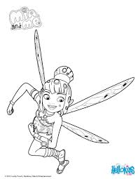 yuko in action coloring pages hellokids com