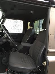 2000 land rover inside low mileage defender 110 pick up olivers classics