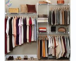 Cloth Closet Doors Storage Clothes Rack Cloth Closet White Clothing Rack