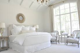 just a touch of gray upholstered headboards