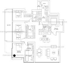 bedroom floor planner marina one residences floor plan