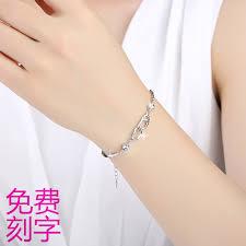 girls bracelet silver images Usd 91 71 999 sterling silver bracelet girls love heart shaped jpg