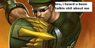 Garen Memes - commando garen splash leagueofmemes