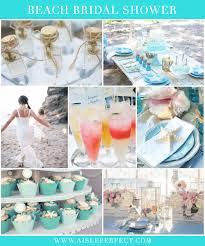 beach bridal shower inspiration aisle perfect