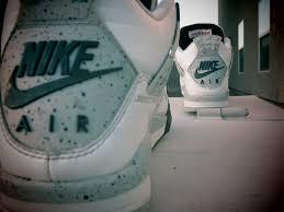 jordan 4 white cement wallpaper