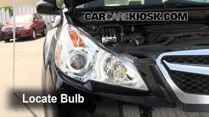What Are Drl Lights Drl Replacement 2010 2014 Subaru Legacy 2011 Subaru Legacy 2 5i