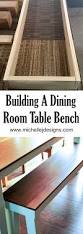Dining Table Bench How To Create A Stunning Dining Room Bench To Go