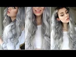 grey hair extensions how to grey black hair dye with hair extension misshellman