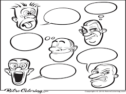 feeling faces coloring pages trendy feeling faces coloring pages