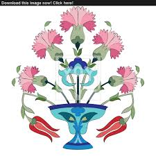 Ottoman Tulip by Ottoman Carnations And Tulips 118775634 Jpg 1600 1600 Ceramica