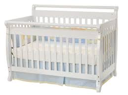 Dream On Me Ashton 4 In 1 Convertible Crib White by Durable Crib Brands Baby Crib Design Inspiration