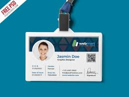 id card graphic design free psd office id card design psd by psd freebies dribbble