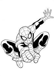 amazing spiderman coloring pages iron spider coloring pages