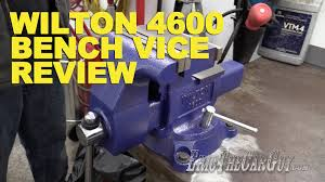 wilton 4600 bench vice review ericthecarguy youtube