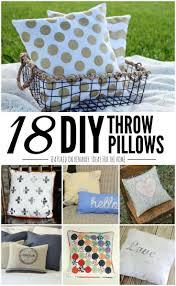 diy throw pillow tutorials 18 great home decor ideas