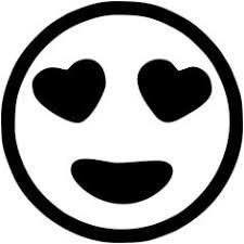 print laughing face emoji black white smiling face hear
