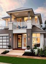Two Story House Plans With Balconies Two Storey House Plans With Balcony With Stainless Steel Balcony