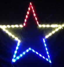 Lighted Yard Decorations Lighted Outdoor Decorations Lighted Star Decorations Patriotic
