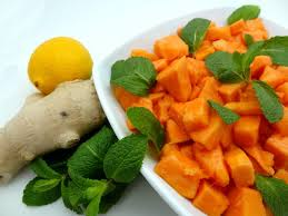 cuisiner la papaye recette du papaya salad cucina africana