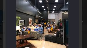 houston mattress store opens as shelter for hurricane evacuees