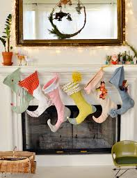 Christmas Stocking Decorations 6 Weeks Of Holiday Diy Week 2 Diy Christmas Stockings