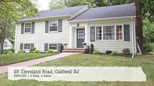 charming 4 bedroom split level home for sale in caldwell nj youtube