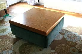 Coffee Table Ottoman Combination Fascinating Table Ottoman Taptotrip Me