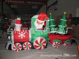 Outdoor Christmas Train Decoration Sale by Christmas Train Lawn Decoration Home Decorations