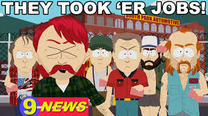 South Park Meme Episode - fan question how many episodes have the took er jobs rednecks
