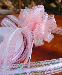 pull bow ribbon corsage pull bow ribbon