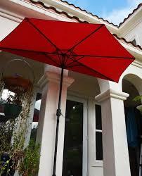 Patio Half Umbrella Patio Umbrella Half 9 Quality Patio Umbrellas Market Solar