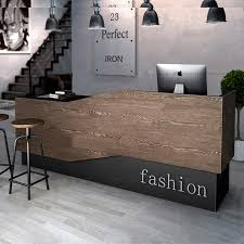 Corner Reception Desk Usd 419 73 Industrial Wind Retro Cashier Counter Clothing Shop