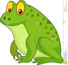 cute green frog cartoon royalty free stock photos image 30568398