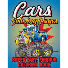 coloring pages super fast furious coloring book
