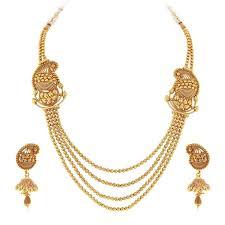 lady gold necklace images Chain set mahalaxmijewellersonline jpg