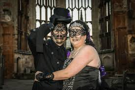 halloween wedding at st mary u0027s guildhall coventry telegraph