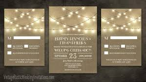 burlap wedding burlap wedding invitations vintage rustic wedding invitations