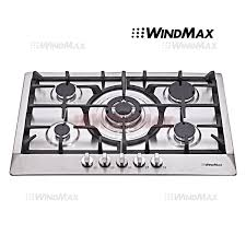 32 Inch Gas Cooktop Amazon Com Windmax Euro Style 30 In Stainless Steel 5 Burner