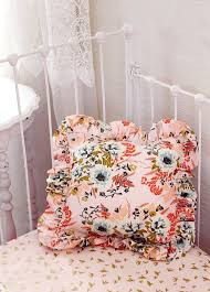 Pink And Gold Nursery Bedding Nursery Accessories For Blush Pink And Coral Bedding