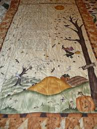 halloween rug acorn ridge quilting andrea u0027s halloween poem quilt
