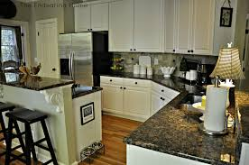 what color to paint cabinets with granite kitchen wishin